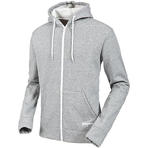Eastwood Trespass-Felpa con cappuccio da uomo, colore: grigio a righe,