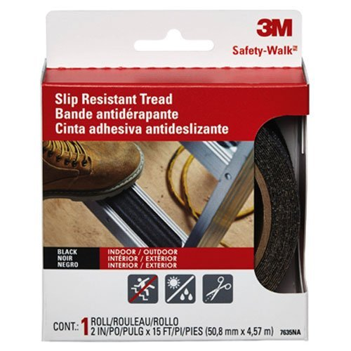 3M Safety Walk Tread Strips Non Slip Suitable for Stair Edge Ref 7639SW [Pack 6]