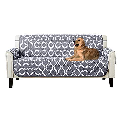 Lovestory copridivano tre posti impermeabile sofa saver 3 posti reversibile divano trapuntato antiscivolo protegge da animali extra (3 posti)