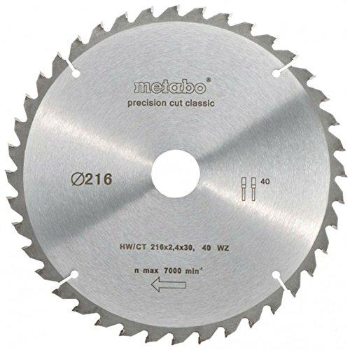 Hangang Lame de scie circulaire de précision Disque Tronçonnage Multimatériel- 216 x 30 x 40T