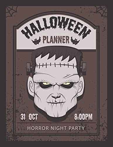 Halloween Horror Night Party Planner: Holiday Season Organizer or Party Vacation Decoration and Haunted House Decor Plan with Activities Countdown Planning Before 31, - House Of Night Serie Kostüm