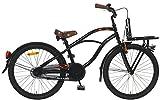 Unbekannt 22 Zoll Popal Black Fighter Jungen Cruiser Fahrrad, Farbe:schwarz