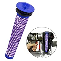 KBZHAE7 Washable Pre Motor Stick Filter DC58 Handheld Vacuum Cleaner Replaces Part For Dyson DC58, DC59, V6, V7, V8 compatible Pre-filters