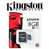 Keple | Praktica DVC 10.4 HDMI 8GB SD Memory Card for Digital Camera Camcorder | Kignston Class 4 SDHC SDXC