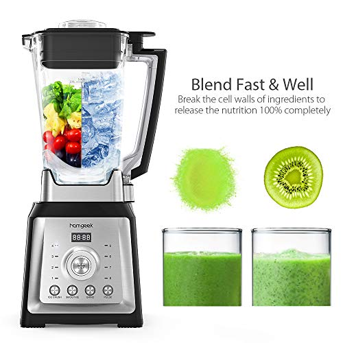 Standmixer Smoothie Maker, homgeek ...