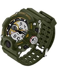 Sanda Fashion Men's Watch Waterproof LED Military Sports Watch Analog Digital Quartz-Watch Relogio Masculino -...