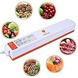Vakuumiergeräte, LASUAVY Klein Folienschweißgerät für Lebensmittel / Fleisch/ Früchte Bleiben bis zu 8x länger Frisch - Vakuumierer Natürliche Aufbewahrung Vakuum Maschine Inkl. 30 Profi-Folienbeutel - 5