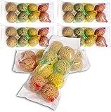 dobar 48 Meisenknödel mit Netz in 4 Verschiedenen Geschmacksrichtungen, Wildvogelfutter Vogelfutter ganzjährig, 1er Pack (1 x 4.1 kg)