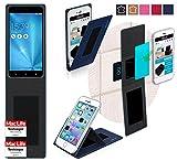 Asus Zenfone 3 Zoom ZE553KL Hülle Cover Case in Blau -