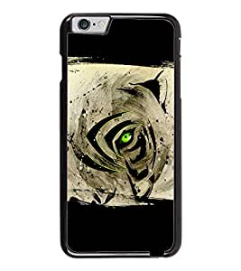 PrintDhaba Devil Eye D-5496 Back Case Cover for APPLE IPHONE 6 (Multi-Coloured)