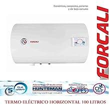Termo de agua eléctrico 100 Litros Horizontal FORCALI Serie SEDNA
