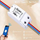 #1: SONOFF Wireless Wifi Switch Remote Control Automation Module DIY Timer Universal Smart Home 10A 220V AC 90-250V