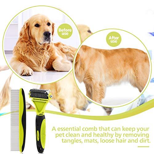Zoom IMG-3 spazzola per cani sciogli nodi