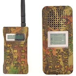LikeBlue Pájaro llamador Camuflaje Animal Decoy Reproductor de MP3 20 W 126dB altavoz Pantalla LCD Batería Recargable Con Control Remoto