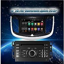 Radio krando Android 7.1 8 DVD Radio GPS para Chevrolet Epica 2013 + ...