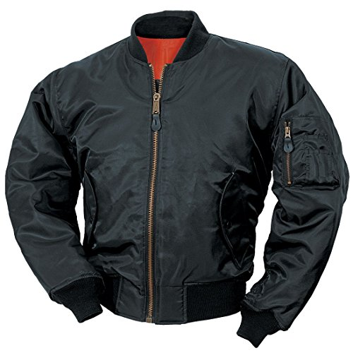 classic-ma-1-flight-jacket-us-pilot-bomber-mens-airforce-biker-security-black-large