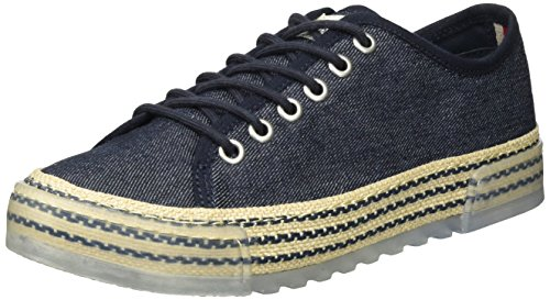 Tommy Hilfiger Damen B1385ELLA 1D1 Sneaker, Blau (Denim 404), 40 EU