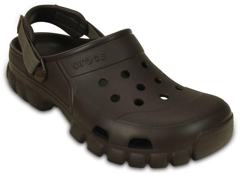 Crocs Offroad Sport Clog, Unisex Adulto Zueco, Gris (Smoke/Charcoal), 50-51 EU