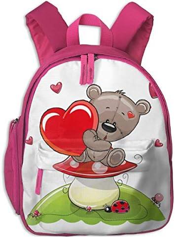 Sd4r5y3hg School Backpack for Girls Boys, Kids Cute Bear Bear Bear And Mushrooms Cartoon Backpacks Book Bag   Il Nuovo Prodotto    Qualità Eccellente    A Buon Mercato    Autentico    marchio    Ad un prezzo accessibile    Abbiamo ricevuto lodi dai nostri cli 96f653