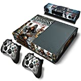 Ridhaan Collection Assassin Creed Syndicate Theme Skin Sticker Cover for Xbox One Console, Kinect & Controllers