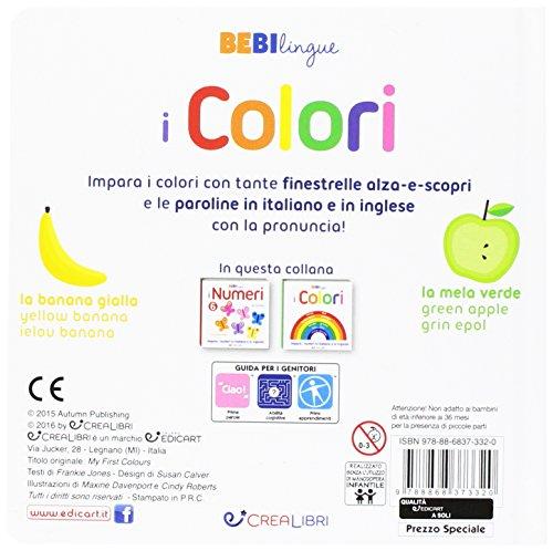 Zoom IMG-1 i colori bebilingue ediz illustrata