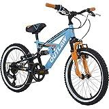 18pollici bambini Mountain Bike Concept otlaw Fully Bicicletta per bambini con ammortizzatori edert