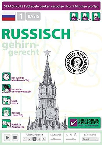 Birkenbihl Sprachen: Russisch gehirn-gerecht, 1 Basis Sprachen Lernen Software