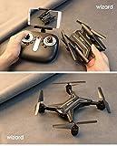 VERFER Drone Plegable WiFi con Camara HD, Gran Angular de 2.0MP 720P/5.0MP 1080P Control de Altura Vuelo de Trayectoria Drone (con CÁMARA 5.0MP 1080P)