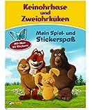 Keinohrhase und Zweiohrküken: Mein Spiel- und Stickerspaß: Mit über 30 Stickern