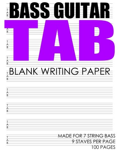 BASS Guitar Tab: Made For 7 String Bass (7-string E-bass)