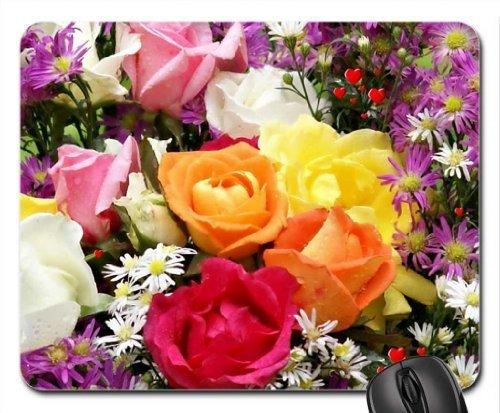 Blumenarrangement Mauspad, Mousepad (Blumen Mauspad)