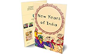 New Years of India Festivals Picture Book for Early Learners (English)