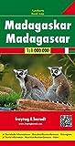 Madagaskar, Autokarte 1:1.000.000, freytag & berndt Auto + Freizeitkarten: Wegenkaart 1:800 000
