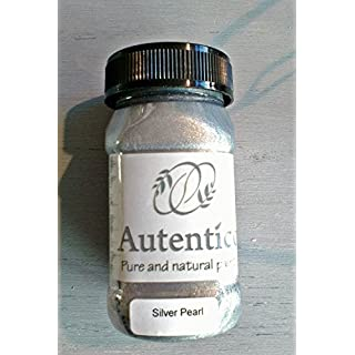 Autentico Silver Pearl Metallic Chalk Paint 100ml