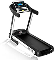 Powermax Fitness TDA-150 2.5 HP (5 HP Peak) Motorized Treadmill - Free Installation Service - 3 Years Motor Wa