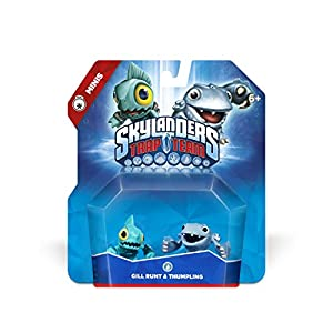 Skylanders Trap Team: Gill Runt & Thumpling – Mini Character 2 Pack
