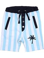 Zunstar Steve - Pantalones cortos de náutica para niño, color azul oscuro, talla UK: Talla 134/140