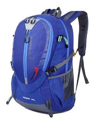 HWB/ 40L L Tourenrucksäcke/Rucksack Camping & Wandern / Klettern Draußen Multifunktions Grün / Rot / Blau / Hellblau / Orange Nylon No Orange