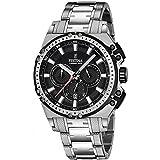 Festina Herren Chronograph Quarz Uhr mit Edelstahl Armband F16968/4