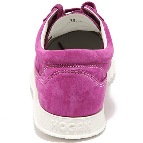 49023 sneaker HOGAN TRADITIONAL scarpa donna shoes women Fucsia