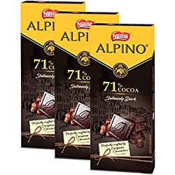 Nestle ALPINO 71% Cocoa - Intensely Dark Chocolate