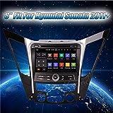 Autoradio Krando ANDROID 7.1 AUTORADIO GPS DVD PLAYER PER HYUNDAI SONATA 8 I40 I45 I50 YF 2011 2012+ CAR MULTIMEDIA WIFI 3G