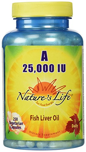 Nature's Life A, 25,000 IU Softgels, 250 Count (25000 Iu Softgels 250)