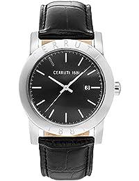 Cerruti 1881 CRA160SN02BK Reloj de pulsera para hombre