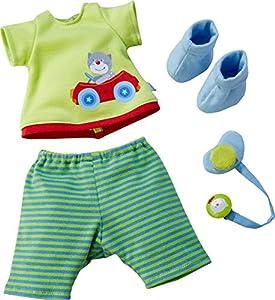 HABA 303728 Accesorio para muñecas - Accesorios para muñecas (1.5 yr(s), Blue,Green, Polyester, Girl, 150 mm, 5 mm)