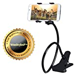 #10: Wonderford mobile phone holder with 360° Rotation | New design clip | non slip base | Flexible arm | can be used in Car , on bed , table , bathroom , kitchen (One Year Warranty,Colour may vary)
