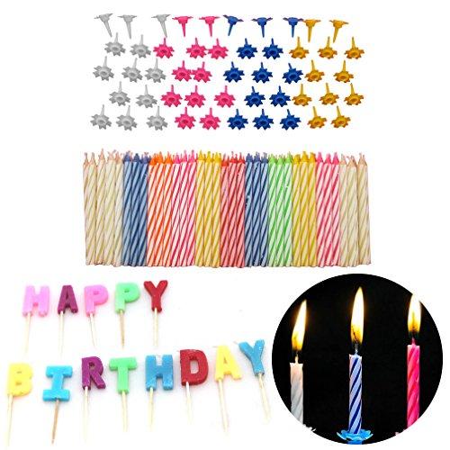 Bougies d'anniversaire - pour une excellente touche finale à un gâteau d'anniversaire