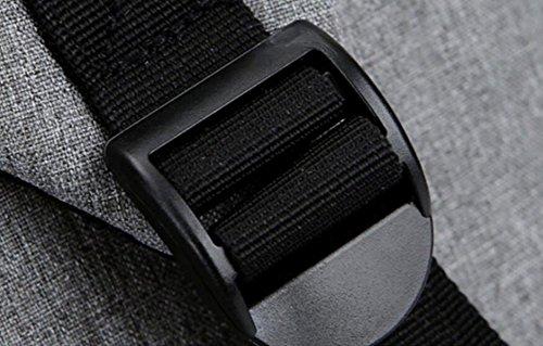 Männer Und Frauen Können Rucksack Computer Tasche Schulter Tasche Freizeit Tasche Große Kapazität Freizeit Einfaches Paket Purple