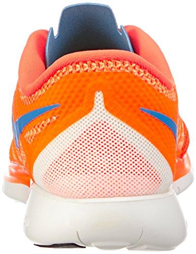 Nike Free 5.0 642198 Unisex Laufschuhe Orange (Hypr Crmsn/Pht Bl-Brght Ctrs-S)