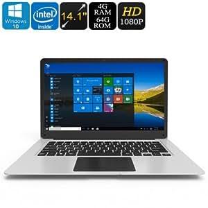 Brücke EZBook 3Windows 10Laptop–Apolo See CPU, 14,1-Zoll-Bildschirm Full-HD, HDMI-Ausgang, 10000mAh, 4GB DDR3L R